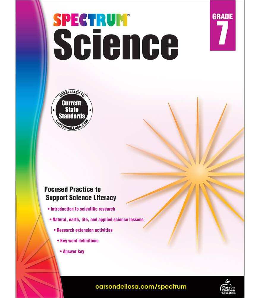 Spectrum Science Workbook