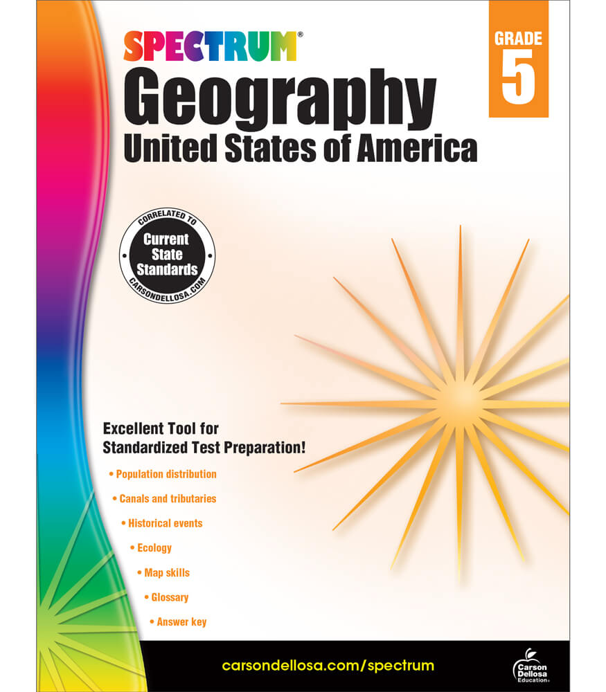 Spectrum Geography Workbook