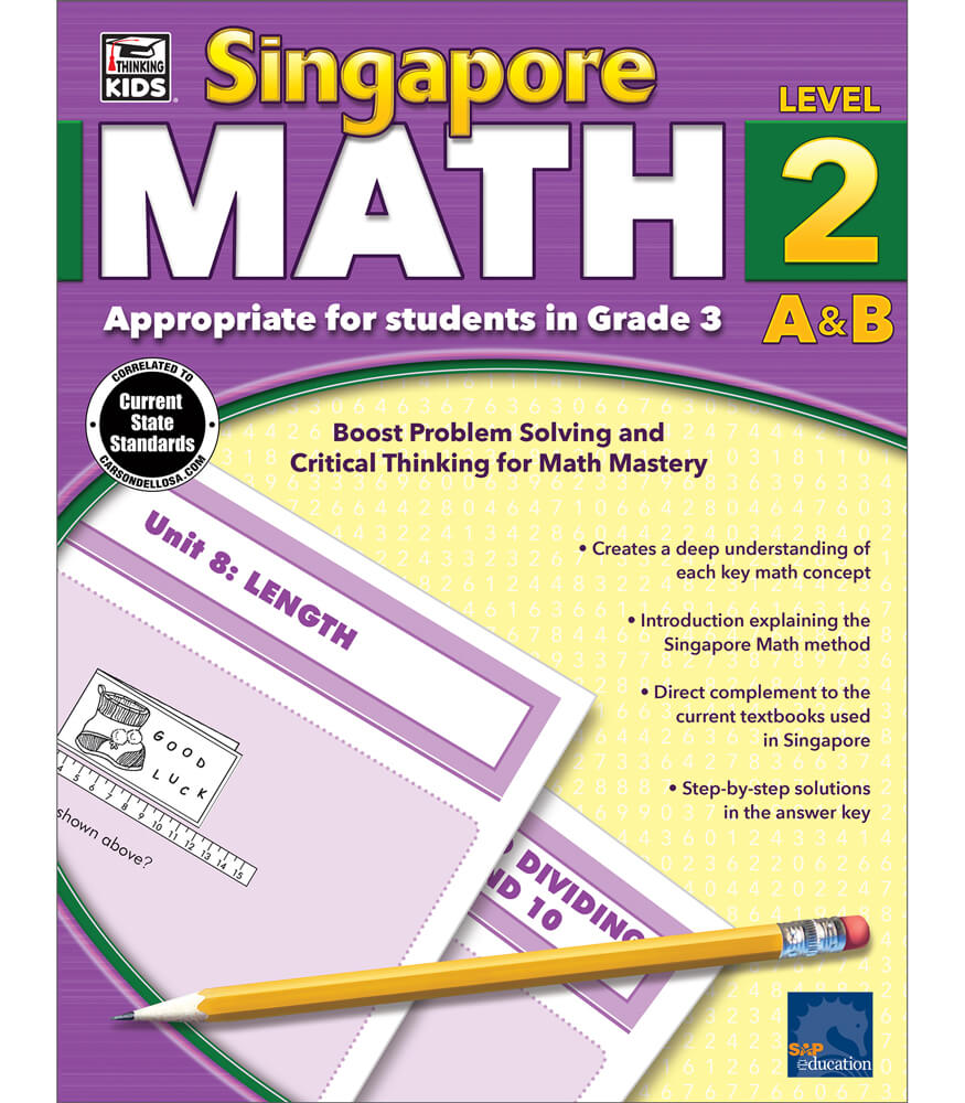 Singapore Math Workbook