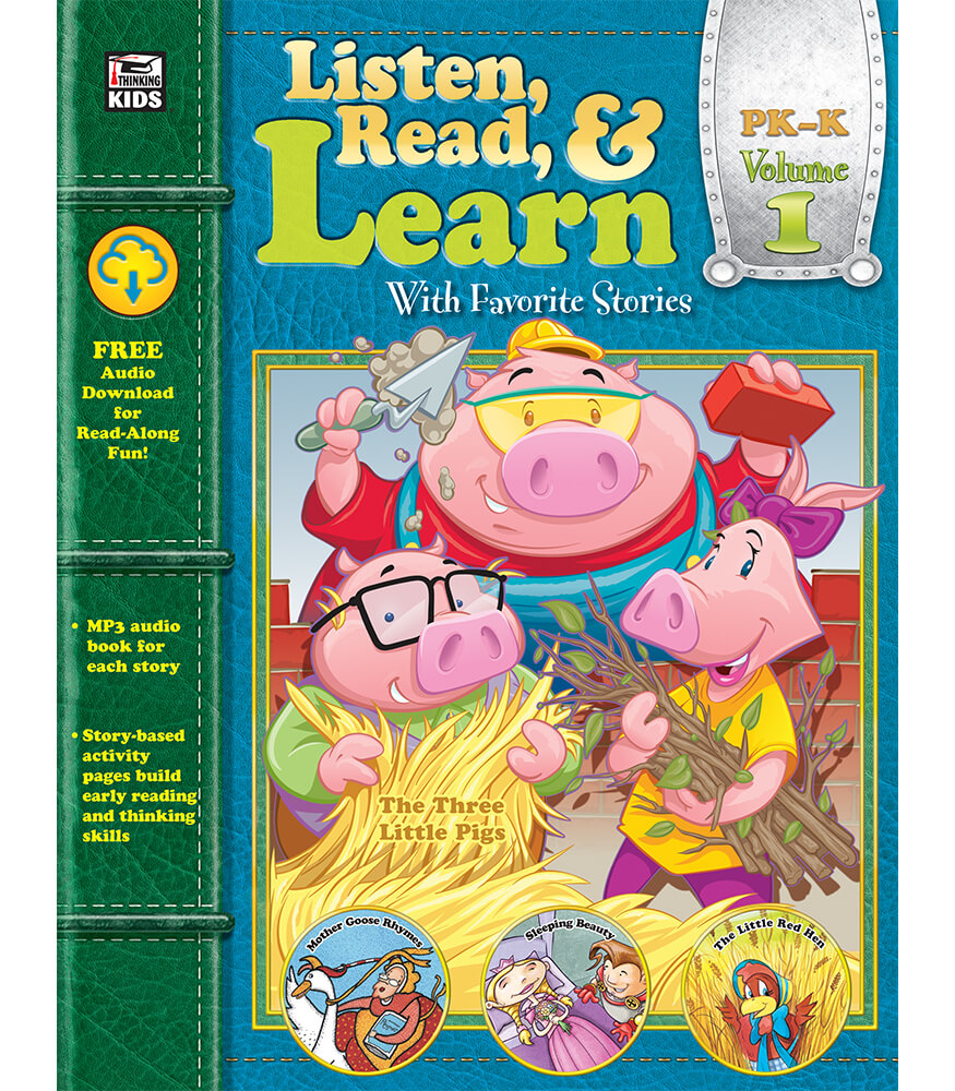 Listen, Read, & Learn Volume 1 Workbook