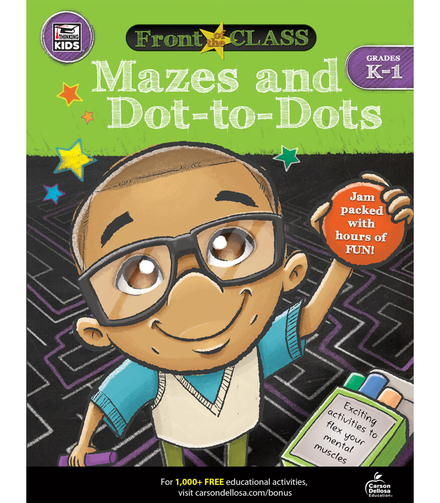Mazes and Dot-to-Dots Activity Book Product Image