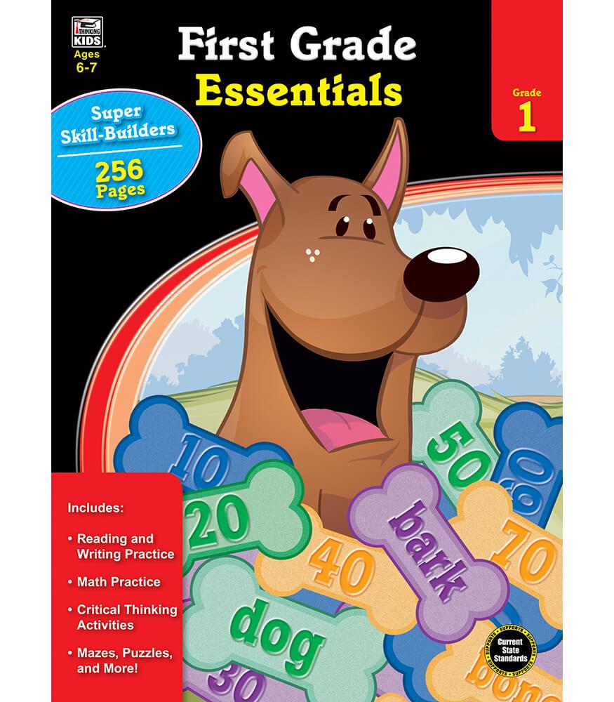 First Grade Essentials Workbook Product Image