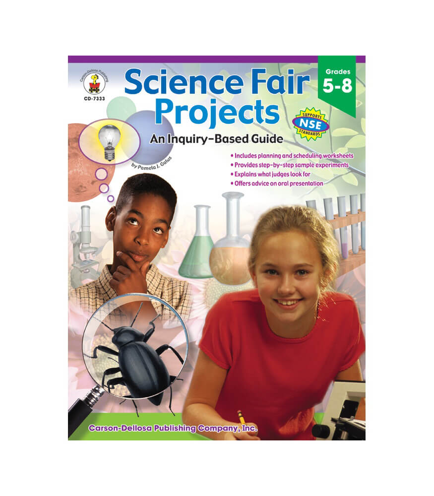 Science Fair Projects Resource Book Grade 5 8
