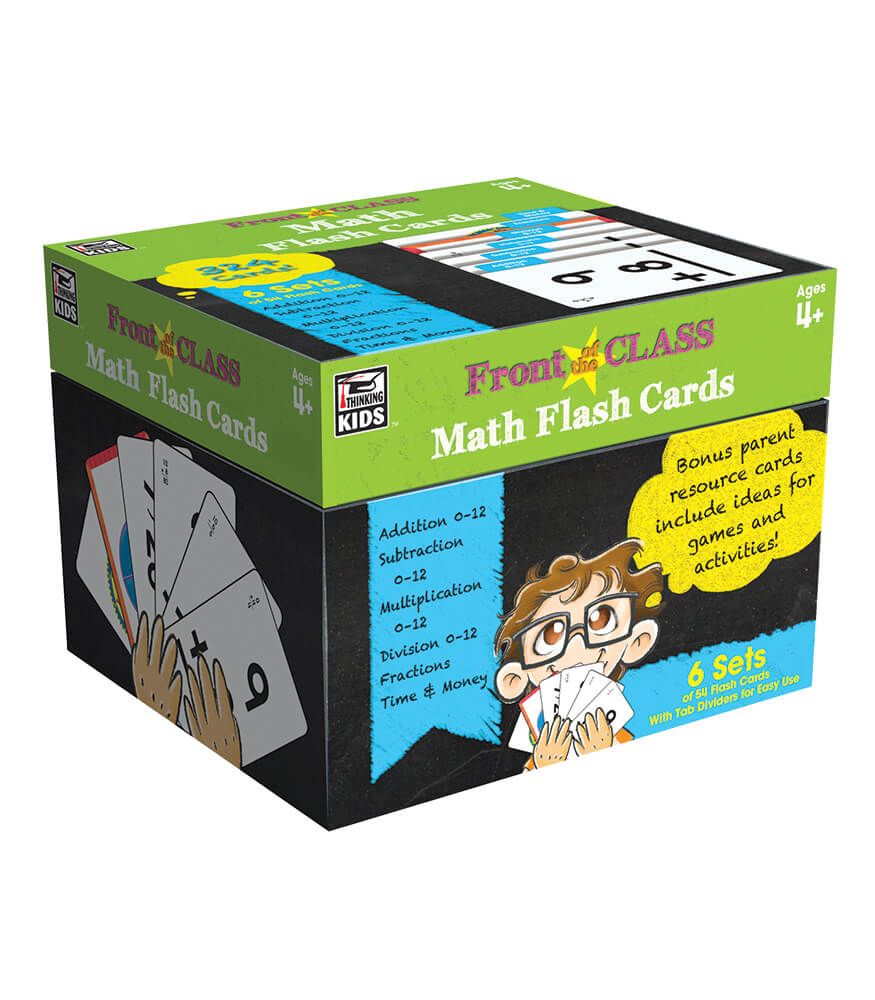 math flash cards grade pk 3 carson dellosa publishing. Black Bedroom Furniture Sets. Home Design Ideas