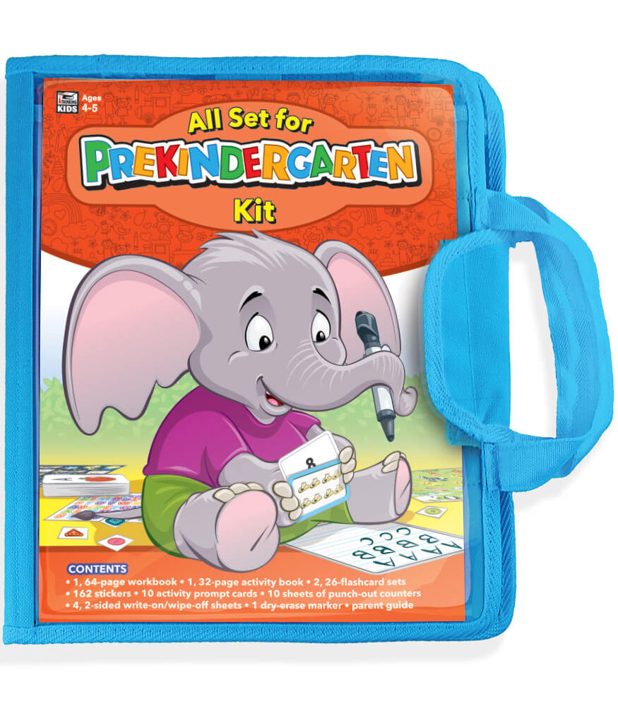 All Set for Prekindergarten Workbook Kit