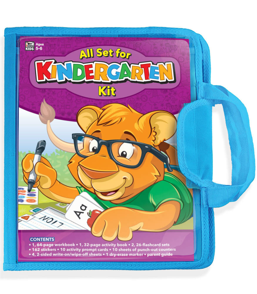 All Set for Kindergarten Workbook Kit