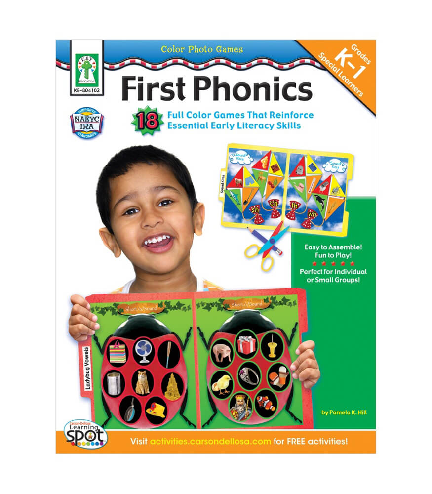 Color Photo Games: First Phonics Resource Book Product Image