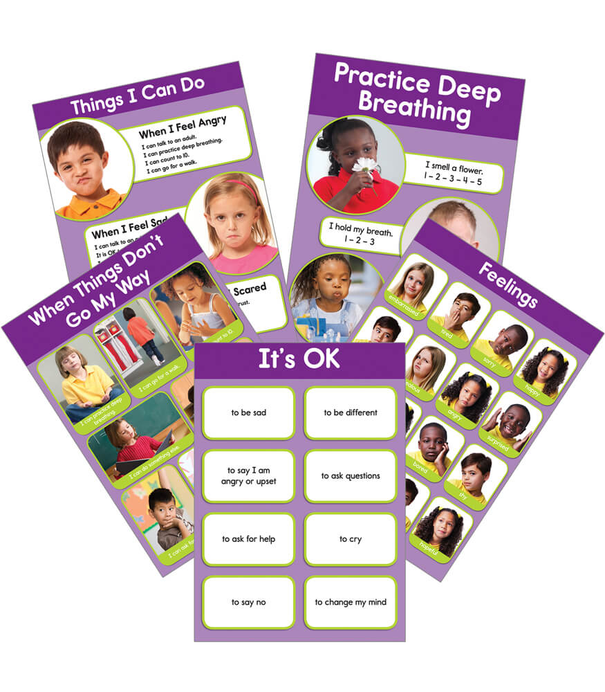 Feelings Bulletin Board Set Product Image