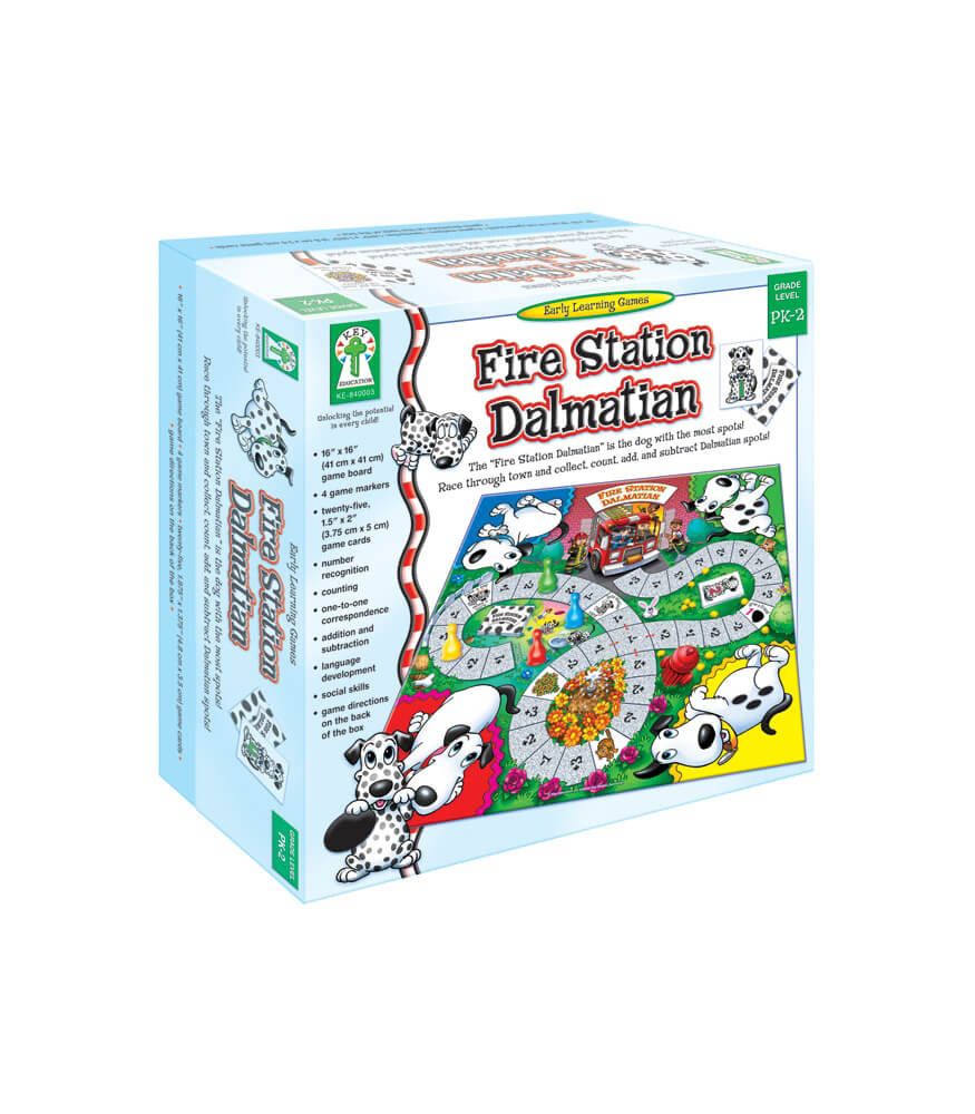 Fire Station Dalmatian Board Game