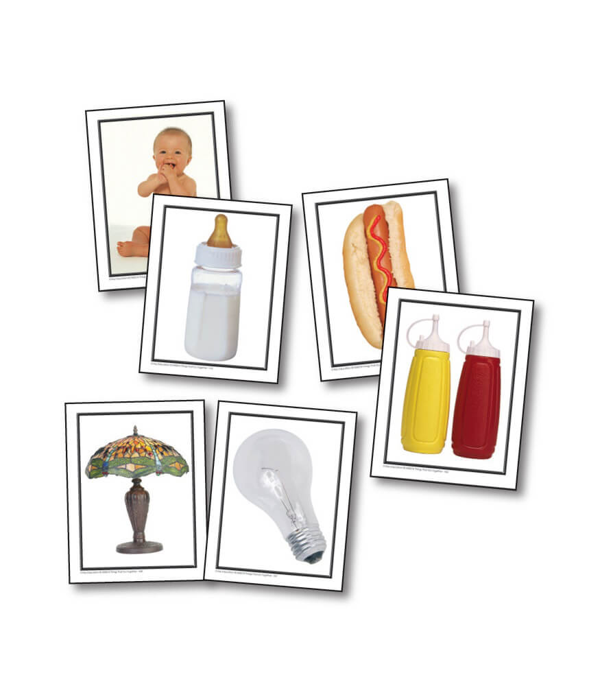 Worksheet Thing That Go Together things that go together learning cards grade pk 1 carson dellosa cards