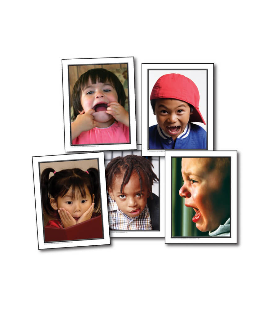 Facial Expressions Learning Cards Product Image