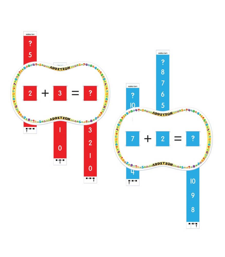 Slide n solve addition manipulative carson dellosa publishing