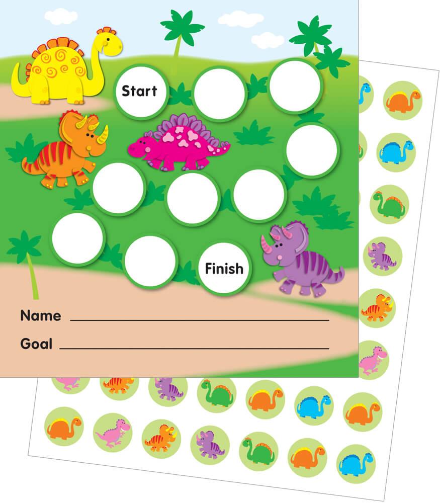 Dinosaur Behavior Chart dinosaurs mini incentive charts carson-dellosa ...