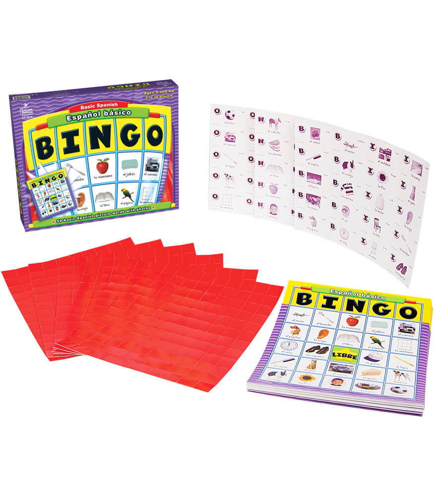 bingo board game