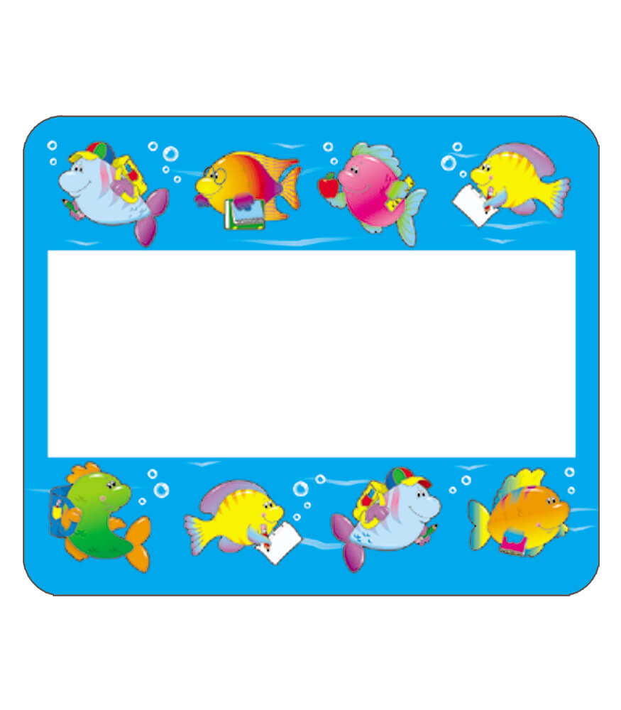preschool name tag templates - fish name tags printable pictures to pin on pinterest