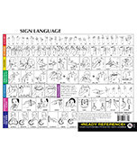 Sign Language Ready Reference Learning Cards Product Image