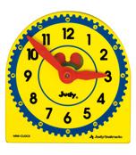 Judy Plastic Clock Class Pack Manipulative