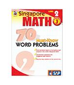 70 Must-Know Word Problems Workbook