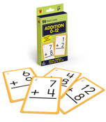 Addition 0 to 12 Flash Cards Product Image