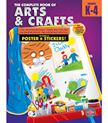 The Complete Book of Arts and Crafts Workbook