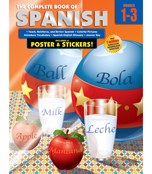 The Complete Book of Spanish Workbook Product Image