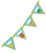 FUNky Frogs Bunting Product Image