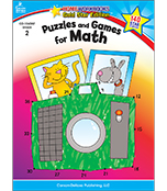 Puzzles and Games for Math Activity Book Product Image