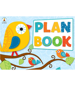 Boho Birds Plan Book Plan Book