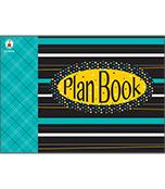 Black, White & Bold Plan Book Plan Book