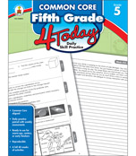 Common Core Fifth Grade 4 Today Workbook