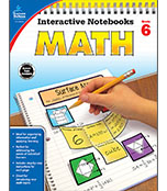 Interactive Notebooks: Math Resource Book Product Image