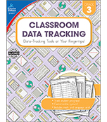 Classroom Data Tracking Resource Book Product Image