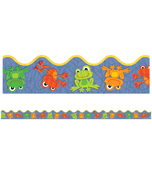 FUNky Frogs Scalloped Borders