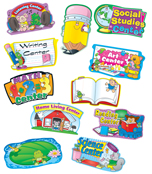 Center Signs Mini Bulletin Board Set