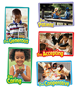 First–Rate Character Traits Bulletin Board Set