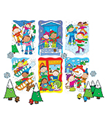 Winter Accents Bulletin Board Set