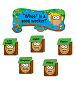 Owl Job Assignment Bulletin Board Set