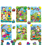 Spring & Summer Accents Bulletin Board Set Product Image