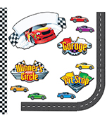 Racing Bulletin Board Set