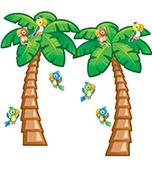 Tropical Trees Bulletin Board Set