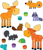 Moose & Friends Bulletin Board Set Product Image