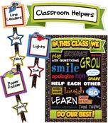 Super Power Classroom Management Bulletin Board Set Product Image