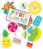 School Pop Pop into Learning Bulletin Board Set Product Image