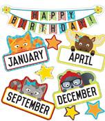 Hipster Birthday Mini Bulletin Board Set Product Image