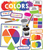 Colors Mini Bulletin Board Set Product Image