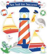Set Sail for Success! Bulletin Board Set Product Image