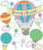 Soaring to Success Bulletin Board Set Product Image