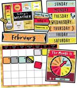 Aim High Calendar Bulletin Board Set Product Image