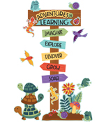 Adventures in Learning Bulletin Board Set Product Image