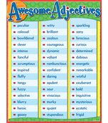Awesome Adjectives Chart